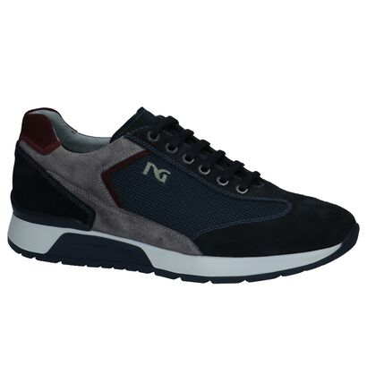 Donkerblauwe Geklede Sneakers NeroGiardini, Blauw, pdp