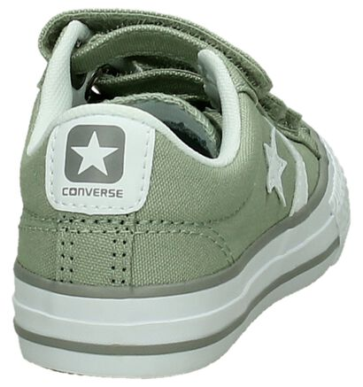 Donkerblauwe Sneakers Converse Star Player 3V OX , Groen, pdp