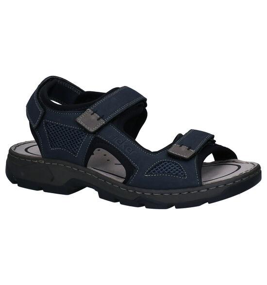 Rieker Blauwe Sandalen
