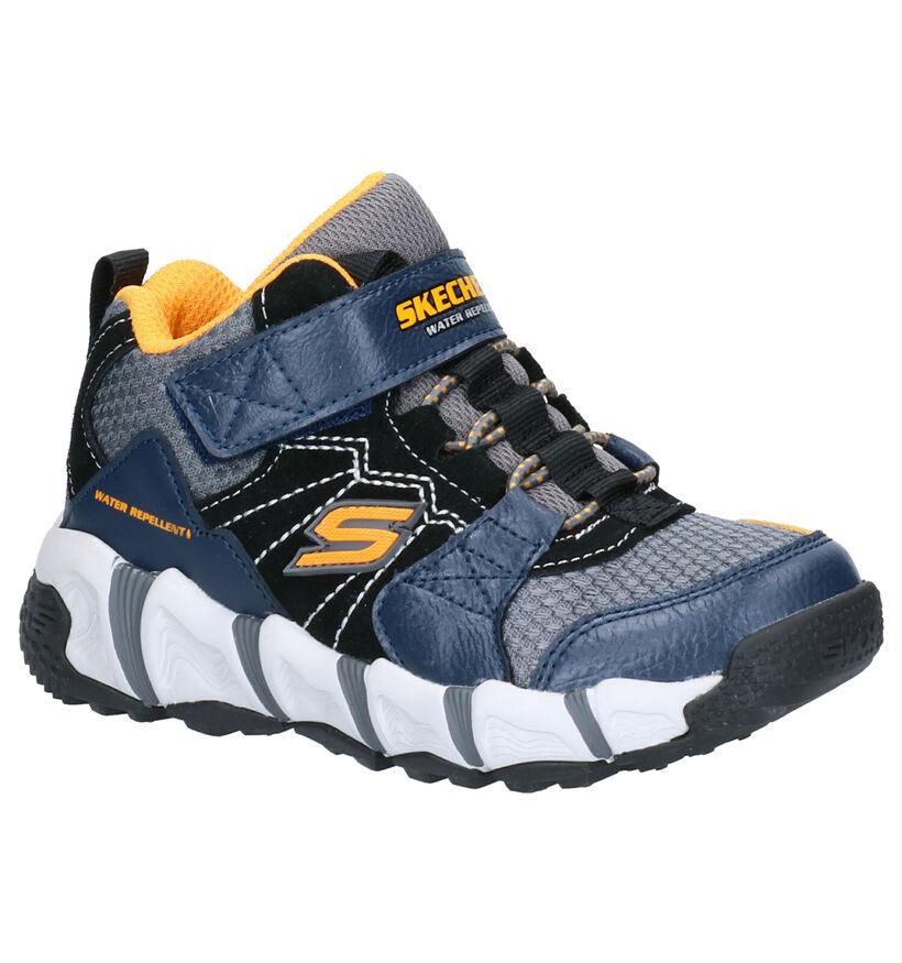 Skechers Sneakers Blauw in leer (263932)
