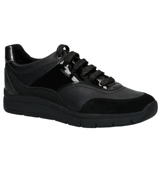 Geox Callyn Chaussures à Lacets en Noir