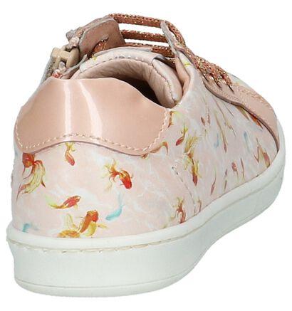 STONES and BONES Chaussures basses en Rose clair en cuir (211527)