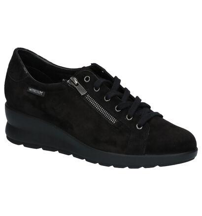 Mephisto Prima Chaussures Basses en Noir en daim (259734)