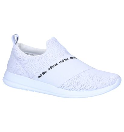 Zwarte Slip-on Sneakers adidas CF Refine Adapt in stof (237029)