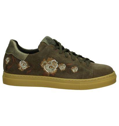 Scapa Sneaker Taupe in daim (204191)