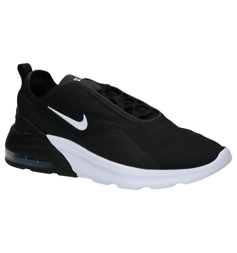 Zwarte Sneakers Nike Air Max Motion 2 in stof (249760)