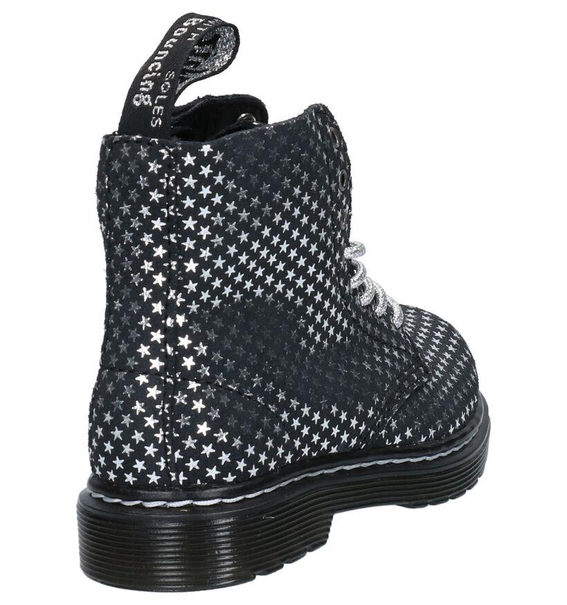 Dr. Martens 1460 Chaussures pour bébé  en Noir en nubuck (265698)