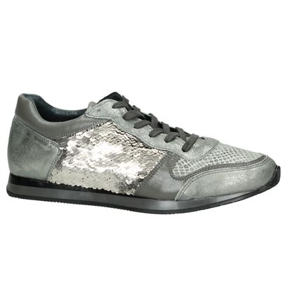 Grijze Sneakers met Pailletten Hampton Bays in leer (167627)