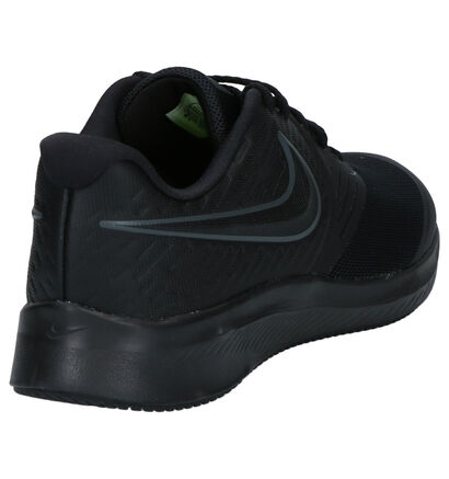 Nike Star Runner Sneakers Zwart in stof (253959)