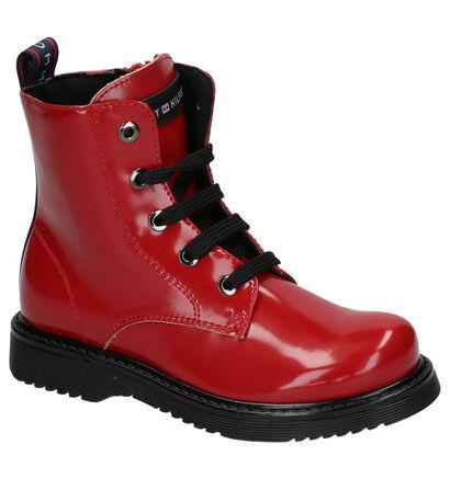Tommy Hilfiger Zwarte Boots in imitatieleer (256944)