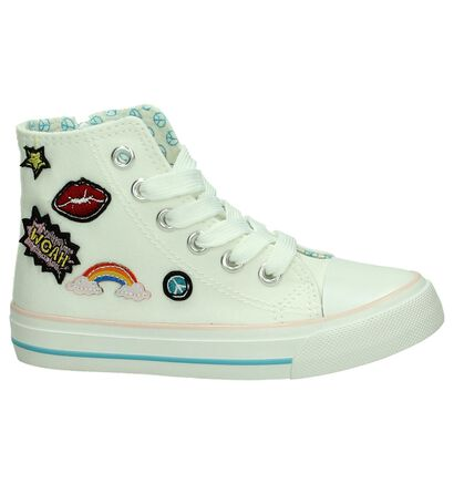 K3 Witte Sneakers in stof (195804)