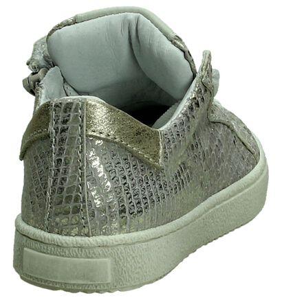 Hampton Bays Zilveren Metallic Sneakers in nubuck (189858)