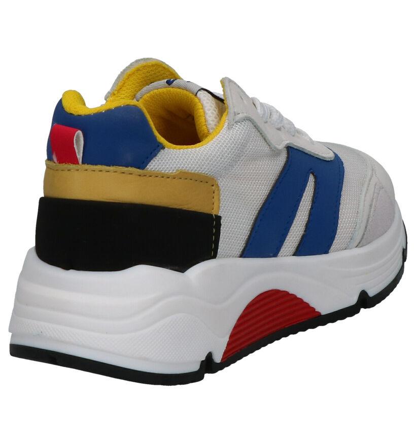 Little David Porto Witte Sneakers in leer (273228)