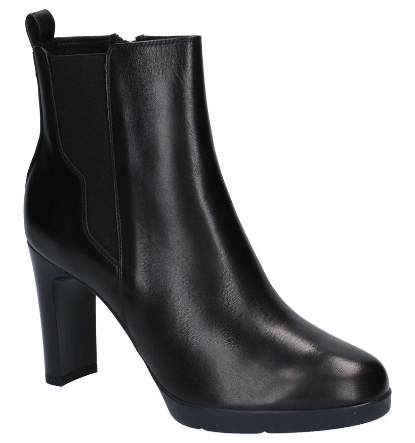 Geox Annya Bottillons en Noir en cuir (255272)