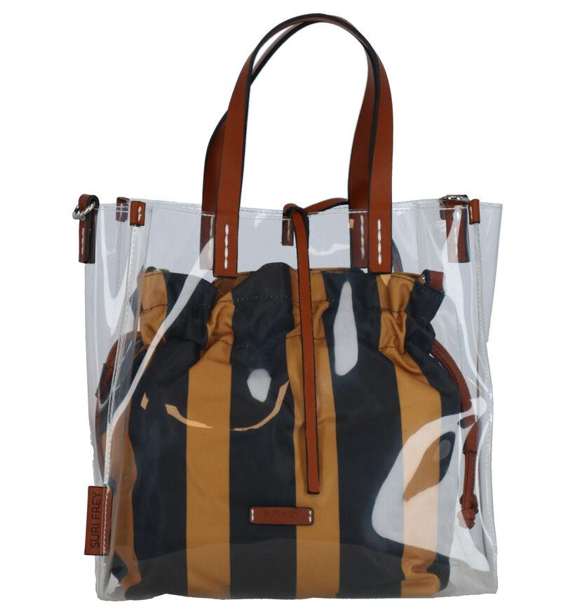 Suri Frey Zwarte Bag in Bag Shopper Tas in kunststof (270910)