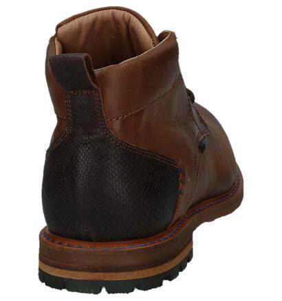 Donkerbruine Boots met Veters Scapa, Bruin, pdp