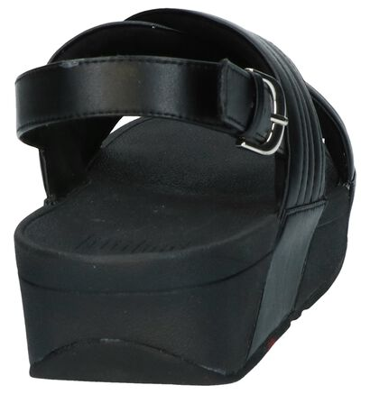 FitFlop Sandales à talons en Noir en simili cuir (240976)