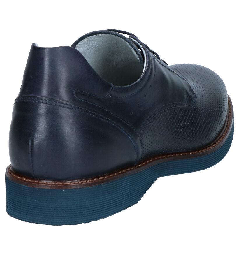 NeroGiardini Chaussures habillées en Bleu foncé en cuir (270472)