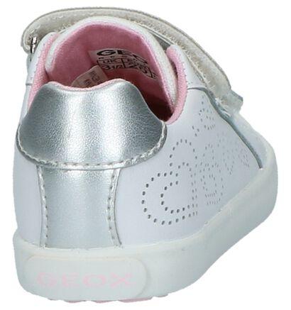 Geox Chaussures basses en Blanc en textile (210516)