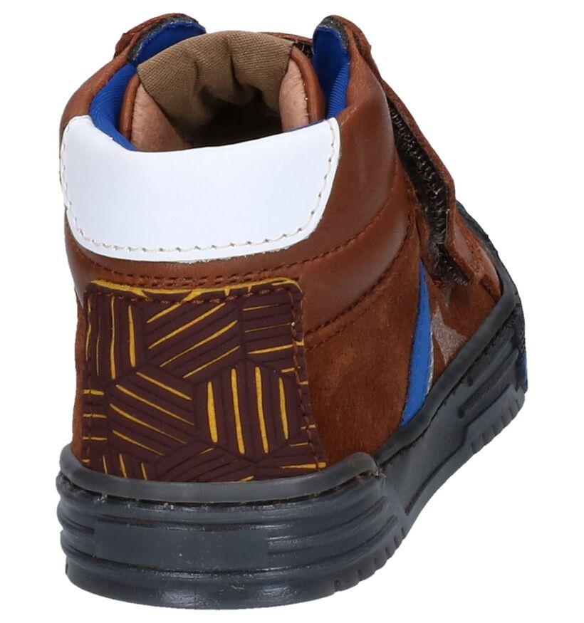 Romagnoli Chaussures hautes en Cognac en cuir (259596)
