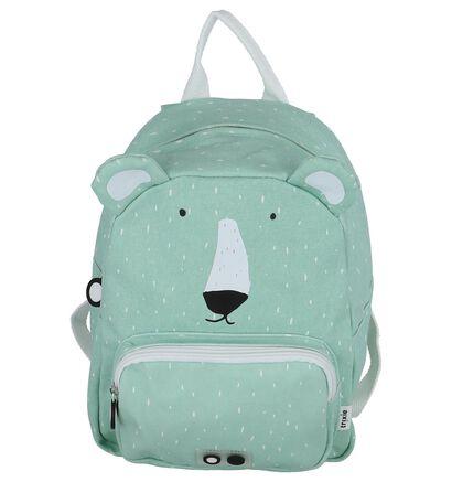 Trixie Mr. Polar Bear Groene Rugzak in stof (265822)
