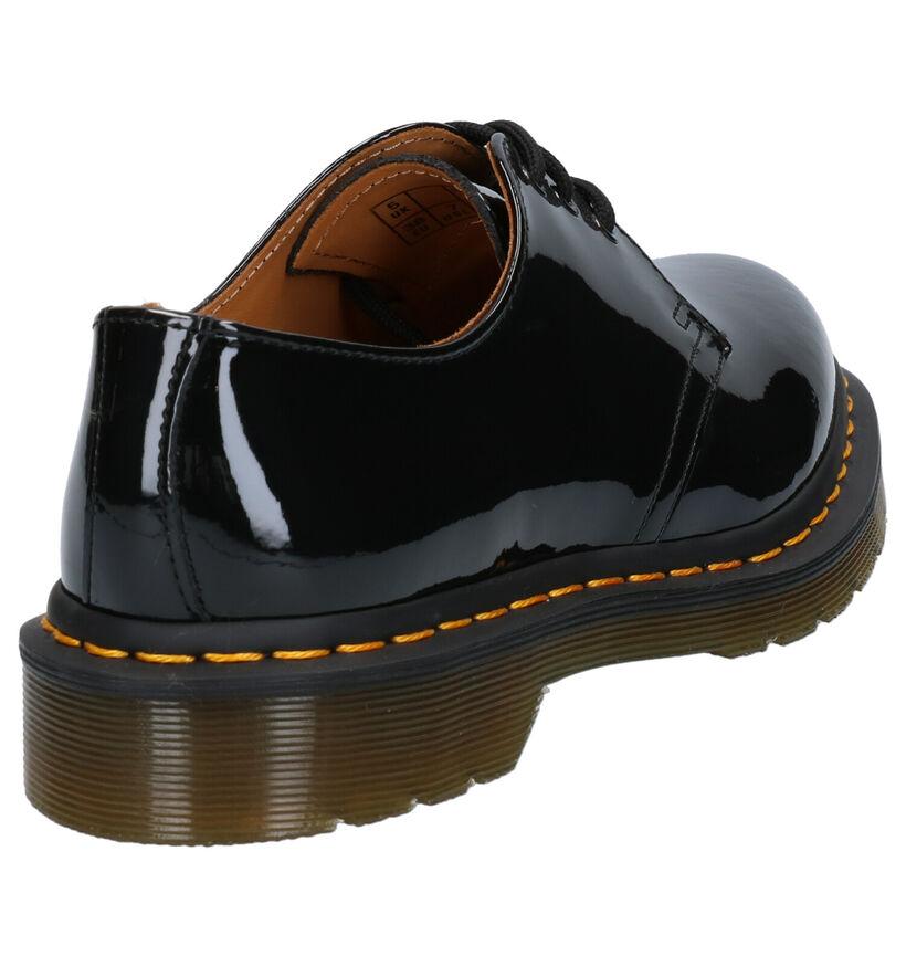 Dr. Martens 1461 Chaussures basses en Noir en cuir (277407)