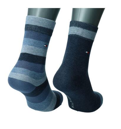 Tommy Hilfiger Blauwe Sokken - 2 Paar (216585)
