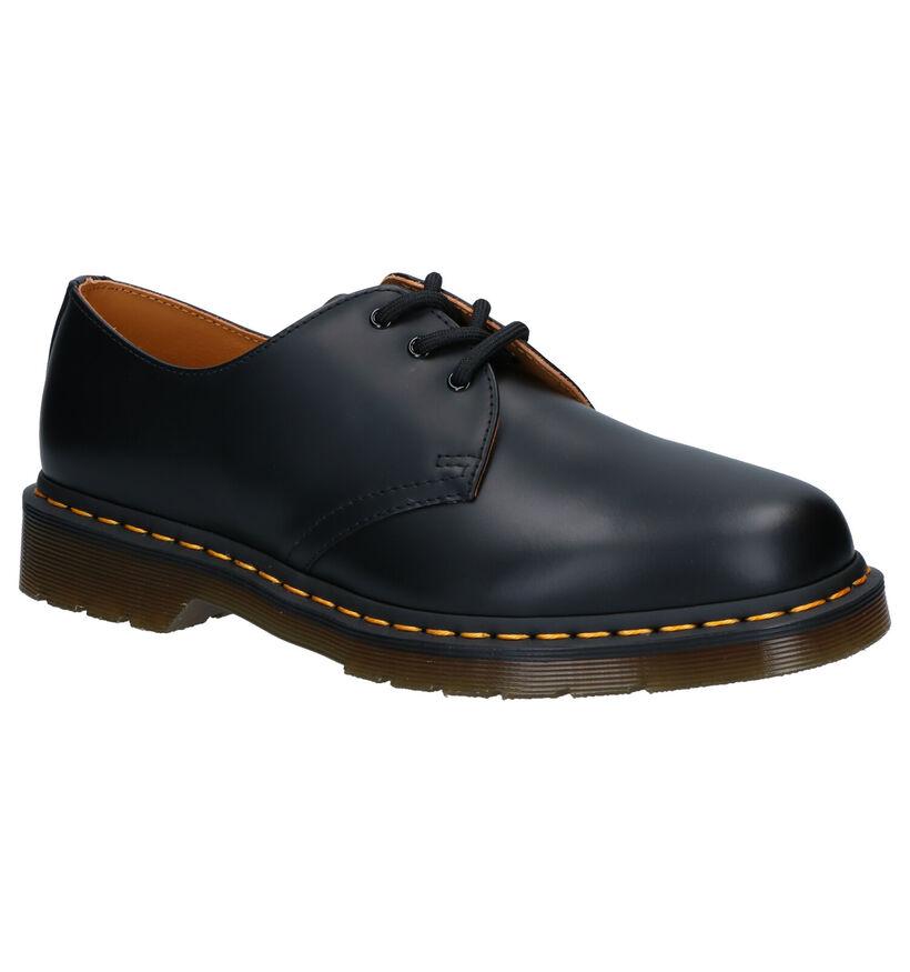 Dr. Martens Chaussures basses en Noir en cuir (253437)
