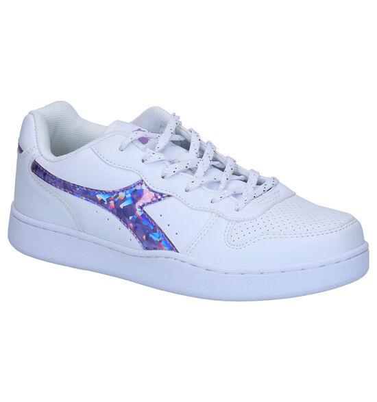 Diadora Playground Witte Sneakers