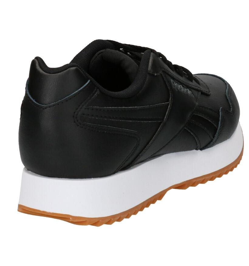Zwarte Sneakers Reebok Royal Glide in kunstleer (252444)