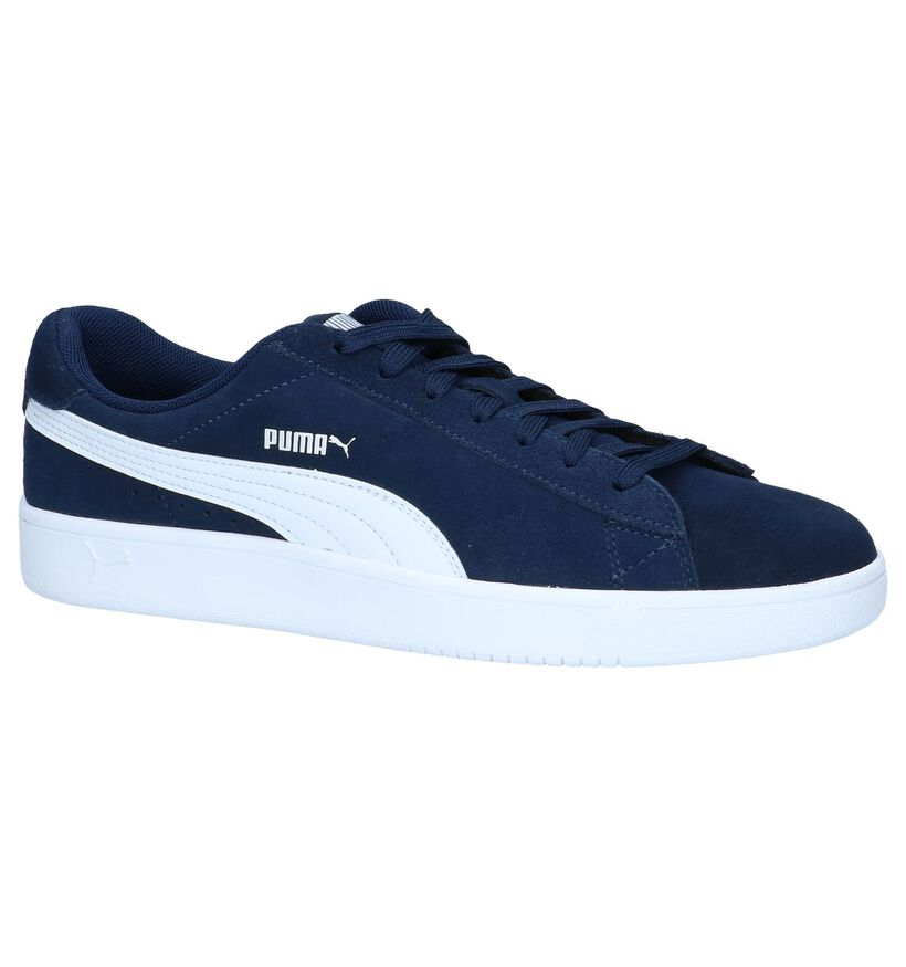 Puma Baskets basses en Noir en simili cuir (239356)