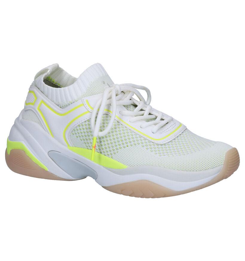 Tamaris Fashletics Sneakers en Blanc en textile (269729)