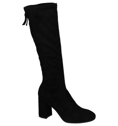 High Heels Laarzen Nero Giardini Zwart in daim (226497)