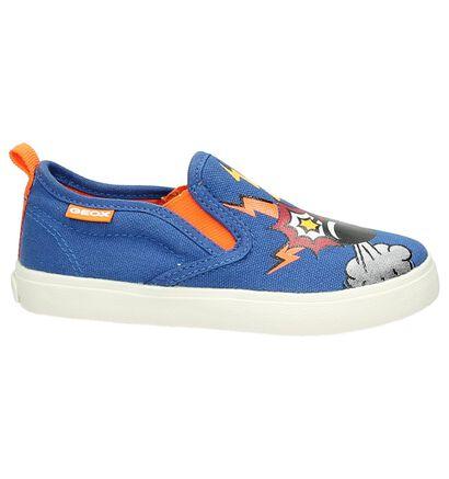 Blauwe Geox Slip-on Sneaker, Blauw, pdp