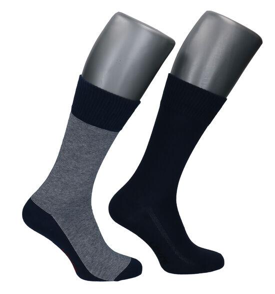 Levi's Blauwe Sokken - 2 Paar