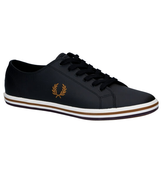 Fred Perry Kingston Zwarte Sneakers