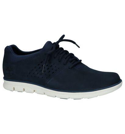 Timberland Bradstreet Chaussures basses en Bleu en daim (220696)
