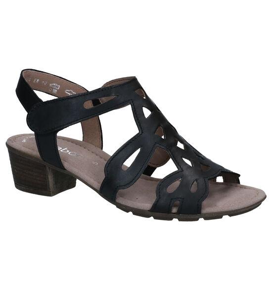 Gabor Best Fitting Sandales en Noir