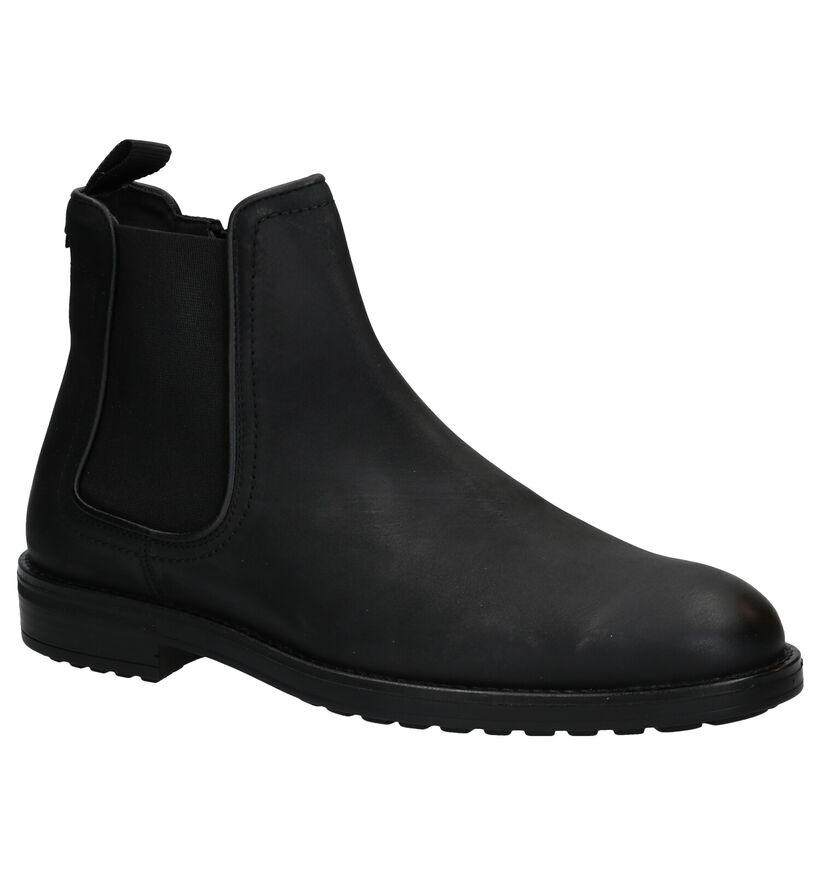Bullboxer Zwarte Chelsea Boots in leer (281791)