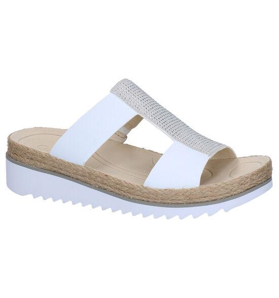 Gabor Best Fitting Nu-pieds en Blanc