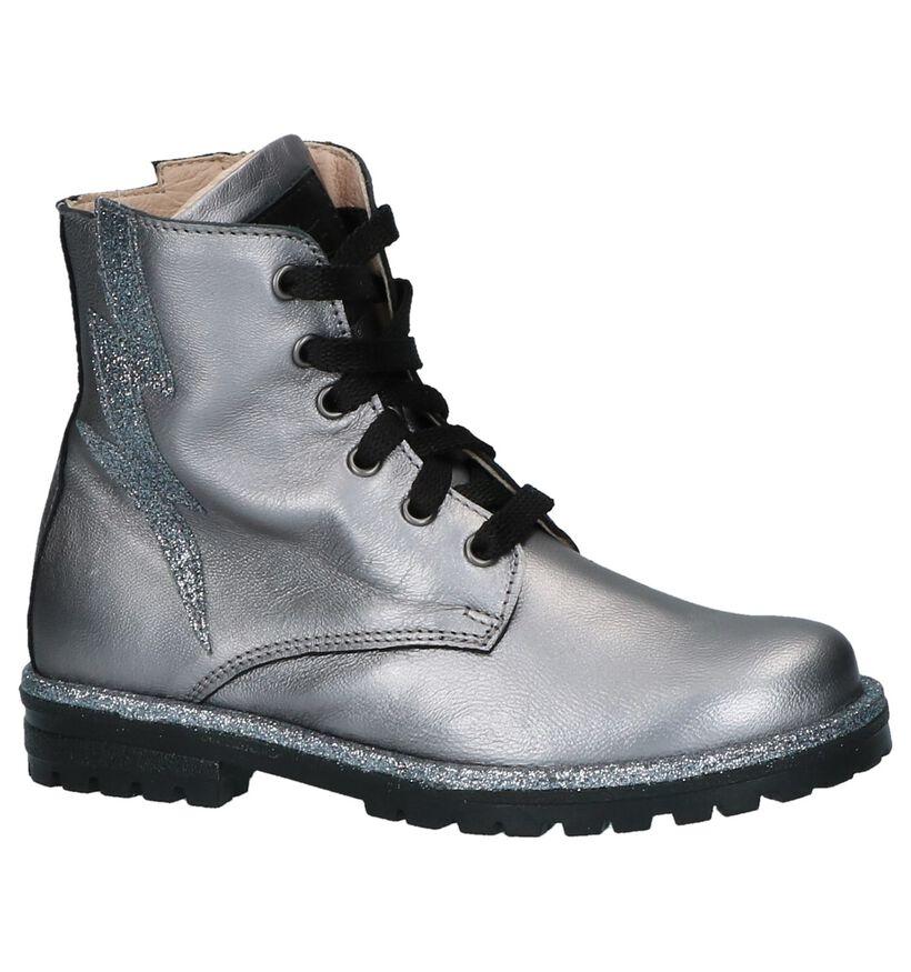 K3 Chaussures hautes en Argent en cuir (231955)