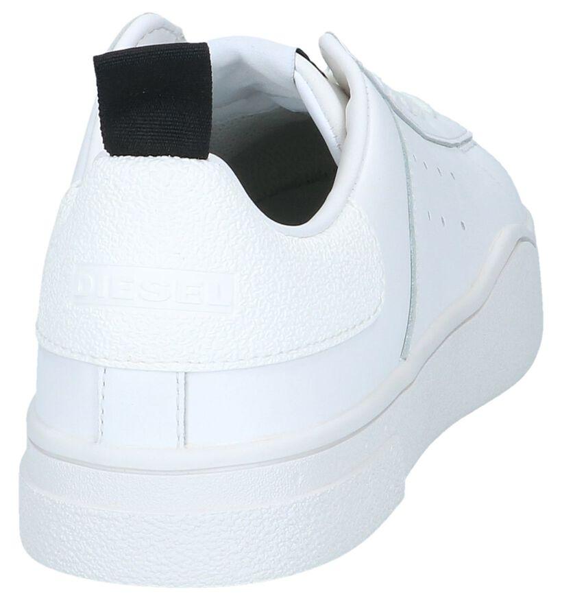 Diesel Baskets basses en Blanc en cuir (241118)