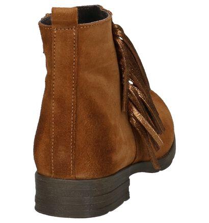 Cognac Geklede Boots Hampton Bays in daim (205381)