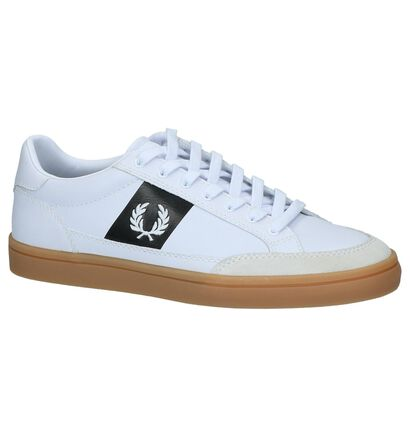 Fred Perry Witte Sneakers in leer (224340)