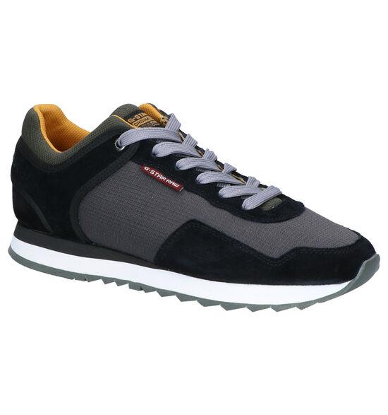 G-Star Calow Chaussures à Lacets en Gris/Noir