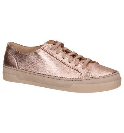 Clarks Baskets basses en Or rose en cuir (221339)