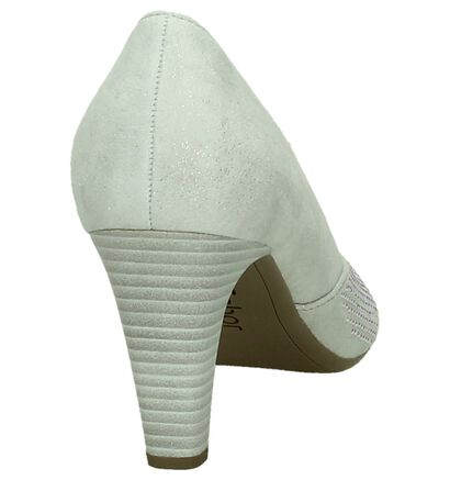 Gabor Escarpins classique en Argent en cuir (209043)