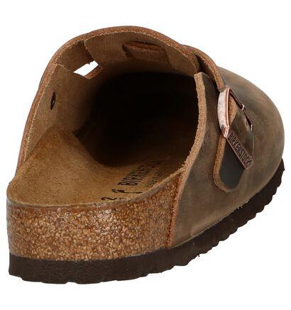 Donker Bruine Slippers Birkenstock Boston, Bruin, pdp