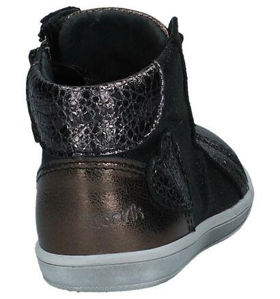 Nörvik Chaussures hautes en Bleu foncé en cuir (226423)