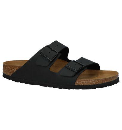 Comfortabele Slippers Birkenstock Arizona Zwart in kunstleer (213368)